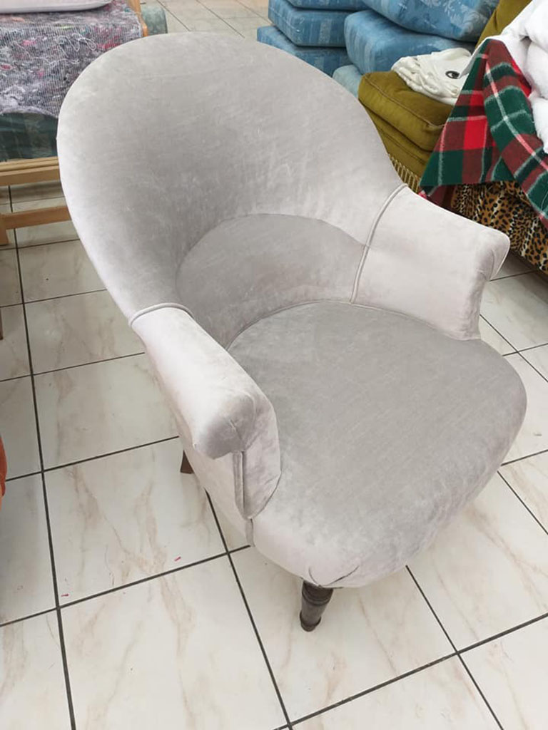 Fauteuil crapaud N°12